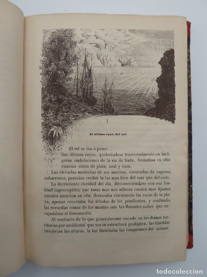 Libros de segunda mano: ROGIN ROJAL EL PAGE DE LOS CABELLOS DE ORO (Benito Vicetto) J.J. Martínez 1857. Novela caballeresca - Foto 7 - 67343037