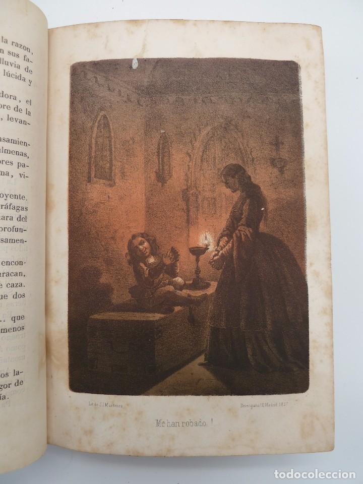 Libros de segunda mano: ROGIN ROJAL EL PAGE DE LOS CABELLOS DE ORO (Benito Vicetto) J.J. Martínez 1857. Novela caballeresca - Foto 8 - 67343037