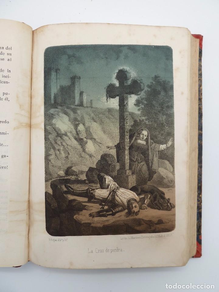 Libros de segunda mano: ROGIN ROJAL EL PAGE DE LOS CABELLOS DE ORO (Benito Vicetto) J.J. Martínez 1857. Novela caballeresca - Foto 10 - 67343037