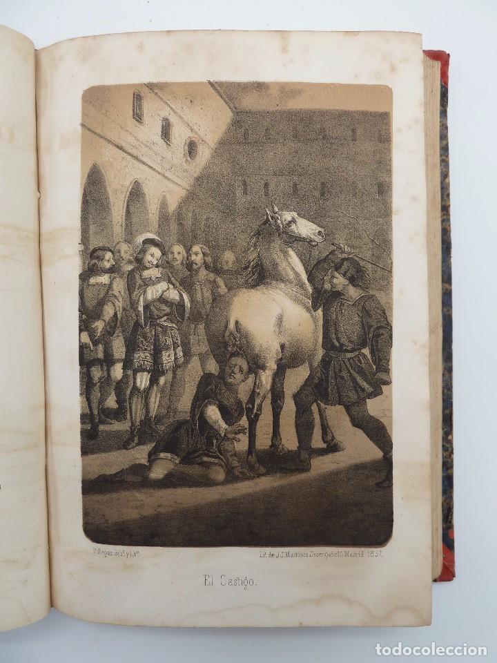 Libros de segunda mano: ROGIN ROJAL EL PAGE DE LOS CABELLOS DE ORO (Benito Vicetto) J.J. Martínez 1857. Novela caballeresca - Foto 11 - 67343037