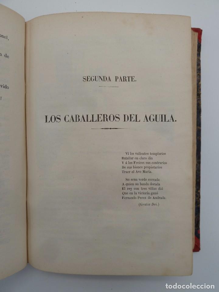 Libros de segunda mano: ROGIN ROJAL EL PAGE DE LOS CABELLOS DE ORO (Benito Vicetto) J.J. Martínez 1857. Novela caballeresca - Foto 12 - 67343037