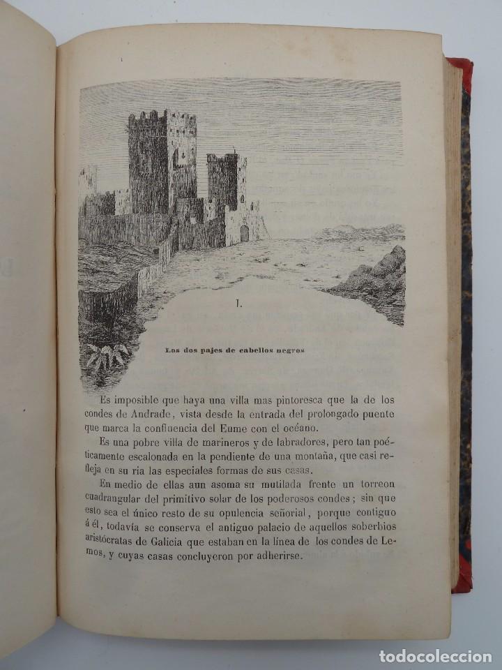 Libros de segunda mano: ROGIN ROJAL EL PAGE DE LOS CABELLOS DE ORO (Benito Vicetto) J.J. Martínez 1857. Novela caballeresca - Foto 13 - 67343037