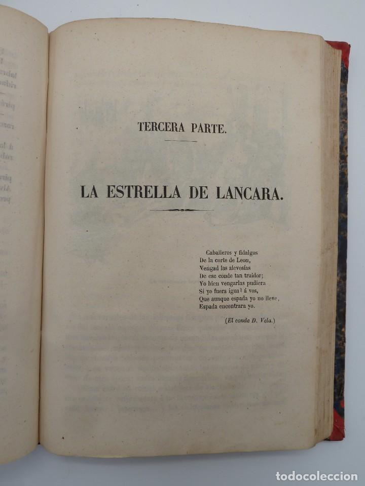 Libros de segunda mano: ROGIN ROJAL EL PAGE DE LOS CABELLOS DE ORO (Benito Vicetto) J.J. Martínez 1857. Novela caballeresca - Foto 14 - 67343037