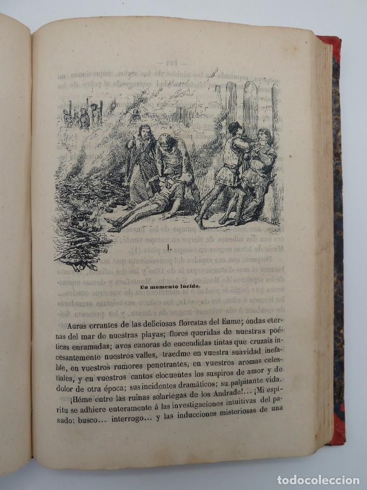 Libros de segunda mano: ROGIN ROJAL EL PAGE DE LOS CABELLOS DE ORO (Benito Vicetto) J.J. Martínez 1857. Novela caballeresca - Foto 15 - 67343037