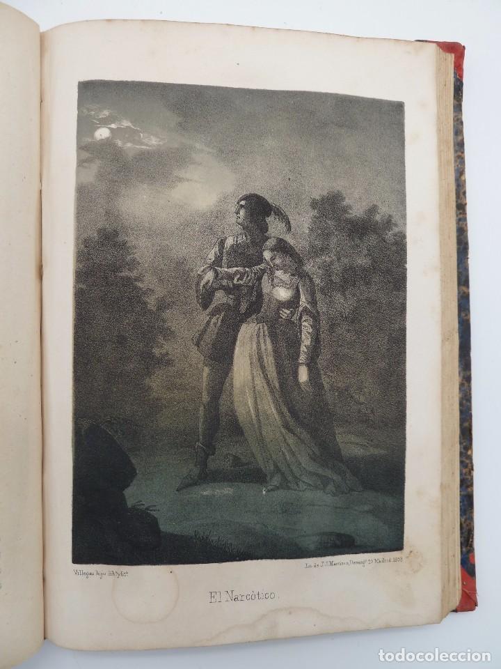 Libros de segunda mano: ROGIN ROJAL EL PAGE DE LOS CABELLOS DE ORO (Benito Vicetto) J.J. Martínez 1857. Novela caballeresca - Foto 16 - 67343037