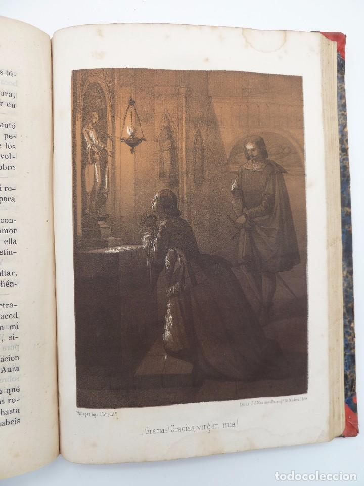 Libros de segunda mano: ROGIN ROJAL EL PAGE DE LOS CABELLOS DE ORO (Benito Vicetto) J.J. Martínez 1857. Novela caballeresca - Foto 17 - 67343037