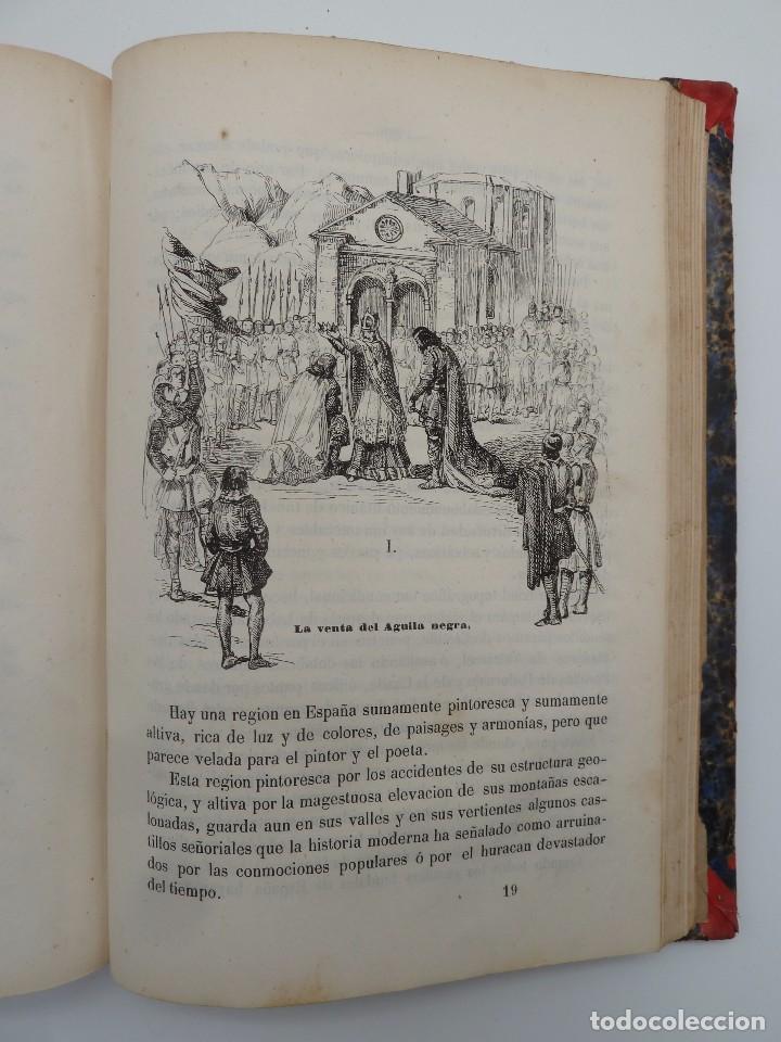 Libros de segunda mano: ROGIN ROJAL EL PAGE DE LOS CABELLOS DE ORO (Benito Vicetto) J.J. Martínez 1857. Novela caballeresca - Foto 19 - 67343037