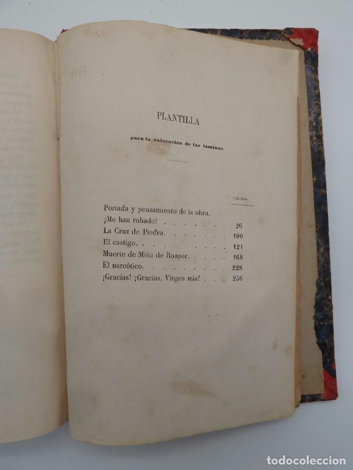 Libros de segunda mano: ROGIN ROJAL EL PAGE DE LOS CABELLOS DE ORO (Benito Vicetto) J.J. Martínez 1857. Novela caballeresca - Foto 20 - 67343037