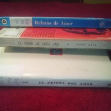 Libros de segunda mano: LIBROS ROMÁNTICOS LOTE 74. Lote 68225493