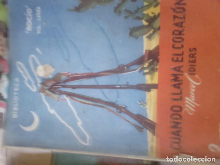 CUANDO LLAMA EL CORAZÓN. MANUEL IDIERS (Libros de Segunda Mano (posteriores a 1936) - Literatura - Narrativa - Novela Romántica)