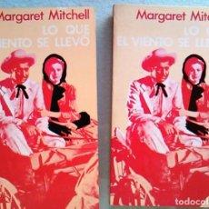 Libros de segunda mano: LIBRO LO QUE EL VIENTO SE LLEVÓ. MARGARET MITCHELL. AYMA EDITORA. ISBN: 8420921548. NOVELA.L0690.. Lote 71021365