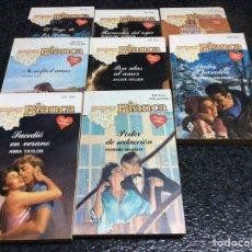 Libros de segunda mano: SUPER BIANCA, LOTE 8 NOVELAS ROMANTICAS -EDITA : HARLEQUIN AÑOS 80. Lote 38370266