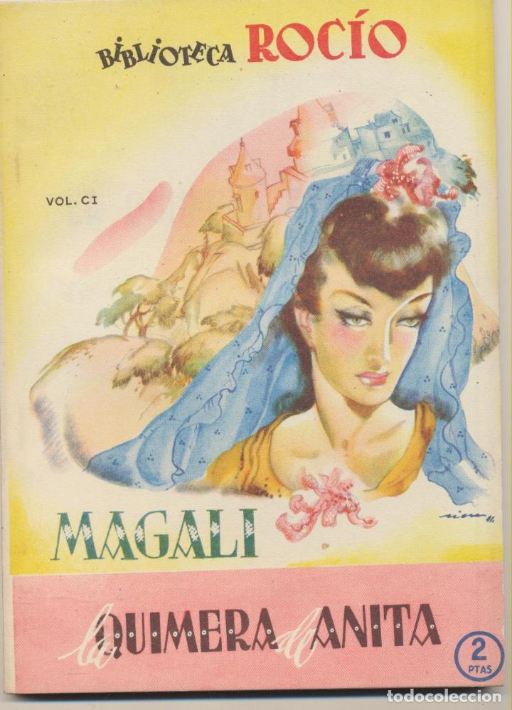 BIBLIOTECA ROCÍO Nº 101. MAGALI. EDITORIAL BETIS. (Libros de Segunda Mano (posteriores a 1936) - Literatura - Narrativa - Novela Romántica)