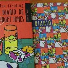 Libros de segunda mano: EL DIARIO DE BRIDGET JONES (HELEN FIELDING, 1996) (CÍRCULO - 1999) + REGALO (DIARIO VIRGEN). Lote 74466595