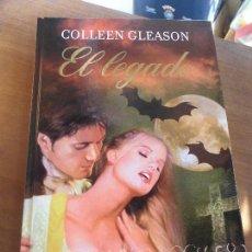 Libros de segunda mano: LIBRO EL LEGADO COLLEEN GLEASON 2010 RBA L-13658. Lote 74667363