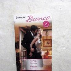 Libros de segunda mano: NOVELA ROMANTICA - 2 NOVELAS INOLVIDABLES DE BIANCA . Lote 78270261