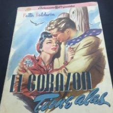 Libros de segunda mano: EL CORAZÓN TIENE ALAS. FAITH BALDWIN. EDITORIAL ALBATROS.. Lote 78441789