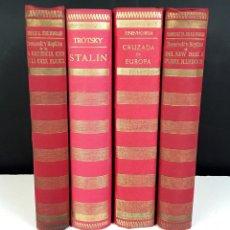 Libros de segunda mano: LOS LIBROS DE NUESTRO TIEMPO. 4 VOLÚMENES. (VER DESCRIPCIÓN). VV. AA. 1950/1956.. Lote 78890941