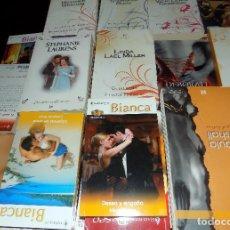 Libros de segunda mano: LOTE DE 50 NOVELAS ROMANTICAS EN PERFECTO ESTADO. Lote 79100769