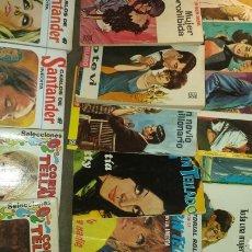 Libros de segunda mano: LOTE 15 LIBROS DE BOLSILLO. NOVELA ROMANTICA. AÑOS 60. PRIMERA Y SEGUNDA EDICIONES. VER DETALLE FOTO. Lote 79290182