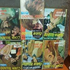 Libros de segunda mano: 7 NOVELAS DE BOLSILLO . CORIN TELLADO. SERIE INEDITA. CERTIFICADO AUTENTICIDAD DE 1° ED. EXCLUSIVA. Lote 79292085