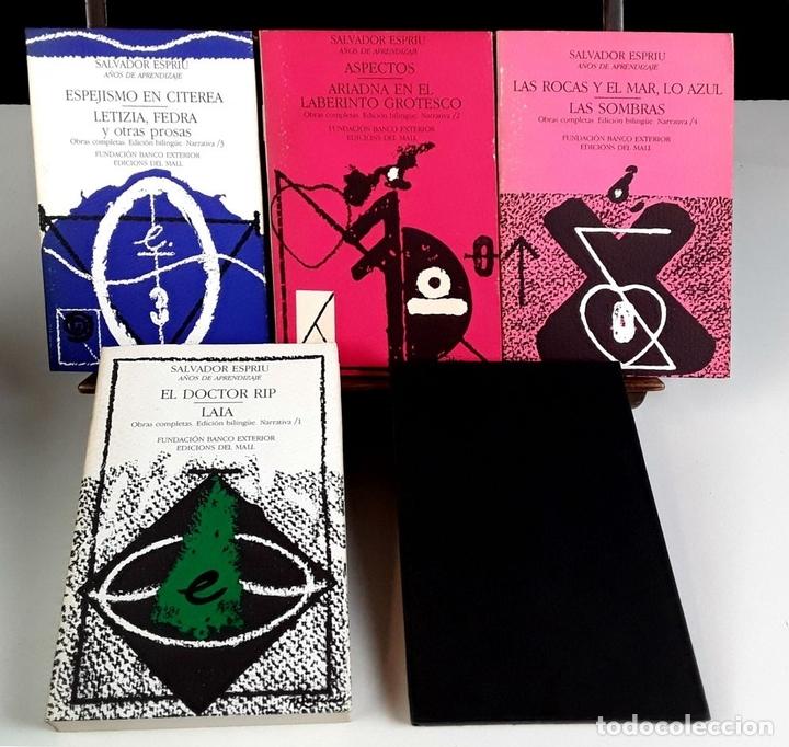 Libros de segunda mano: NARRATIVA COMPLETA DE SALVADOR ESPRIU. 4 TOMOS(VER DESCRIP). EDIC. DEL MALL. 1985. - Foto 2 - 79868561
