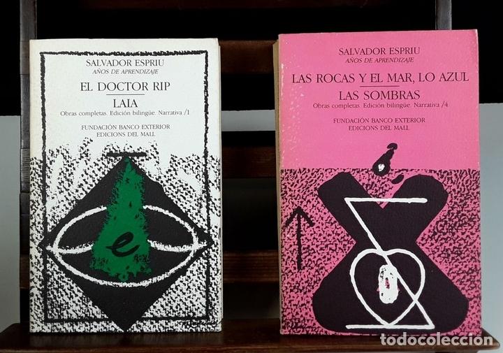 Libros de segunda mano: NARRATIVA COMPLETA DE SALVADOR ESPRIU. 4 TOMOS(VER DESCRIP). EDIC. DEL MALL. 1985. - Foto 3 - 79868561