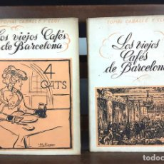Libros de segunda mano: TOMÁS CABALLÉ Y CLOS. 2 VOLÚMENES(VER DESCRIPCIÓN). EDIC. ALBÓN. 1946.. Lote 80098597