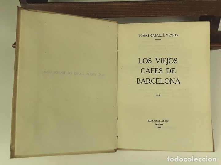 Libros de segunda mano: TOMÁS CABALLÉ Y CLOS. 2 VOLÚMENES(VER DESCRIPCIÓN). EDIC. ALBÓN. 1946. - Foto 2 - 80098597