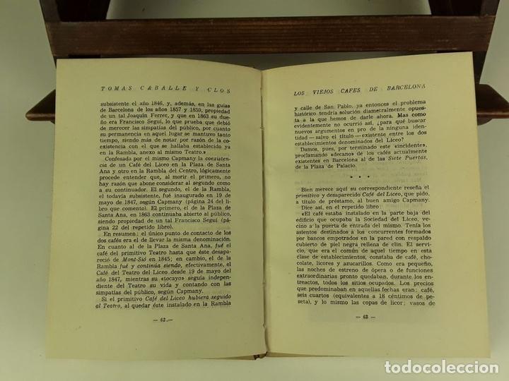 Libros de segunda mano: TOMÁS CABALLÉ Y CLOS. 2 VOLÚMENES(VER DESCRIPCIÓN). EDIC. ALBÓN. 1946. - Foto 4 - 80098597