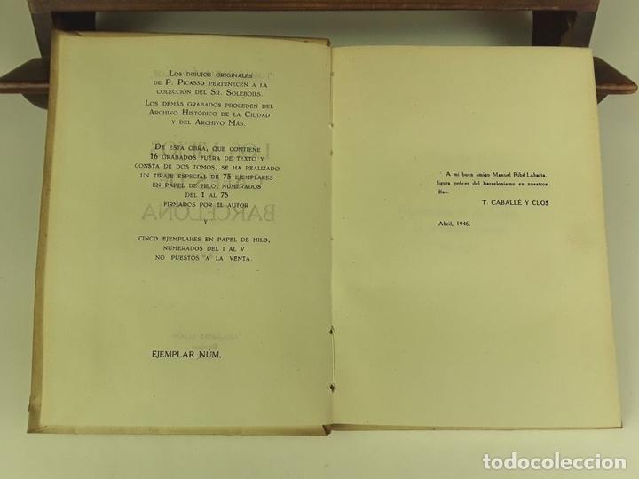Libros de segunda mano: TOMÁS CABALLÉ Y CLOS. 2 VOLÚMENES(VER DESCRIPCIÓN). EDIC. ALBÓN. 1946. - Foto 5 - 80098597