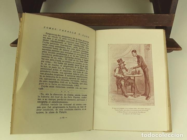 Libros de segunda mano: TOMÁS CABALLÉ Y CLOS. 2 VOLÚMENES(VER DESCRIPCIÓN). EDIC. ALBÓN. 1946. - Foto 7 - 80098597