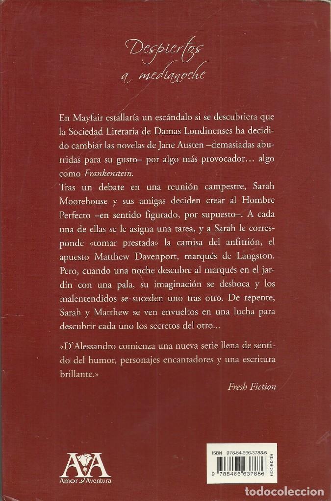 Libros de segunda mano: Jacquie D'Alessandro-Despiertos a medianoche.Ediciones B.2008. - Foto 2 - 80473809