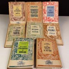 Libros de segunda mano: COLECCIÓN TIERRAS Y MARES. 8 VOLÚMENES. (VER DESCRIPCIÓN). VV. AA. EDIT. JUVENTUD. 1942/1943.. Lote 80977676