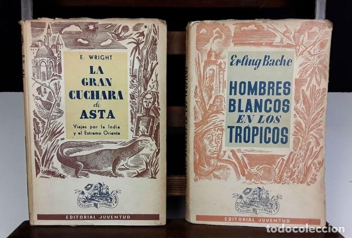 Libros de segunda mano: COLECCIÓN TIERRAS Y MARES. 8 VOLÚMENES. (VER DESCRIPCIÓN). VV. AA. EDIT. JUVENTUD. 1942/1943. - Foto 2 - 80977676