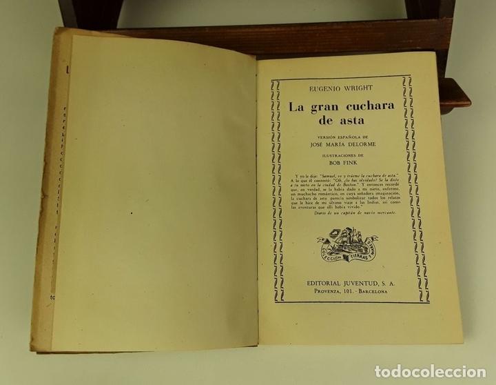 Libros de segunda mano: COLECCIÓN TIERRAS Y MARES. 8 VOLÚMENES. (VER DESCRIPCIÓN). VV. AA. EDIT. JUVENTUD. 1942/1943. - Foto 4 - 80977676