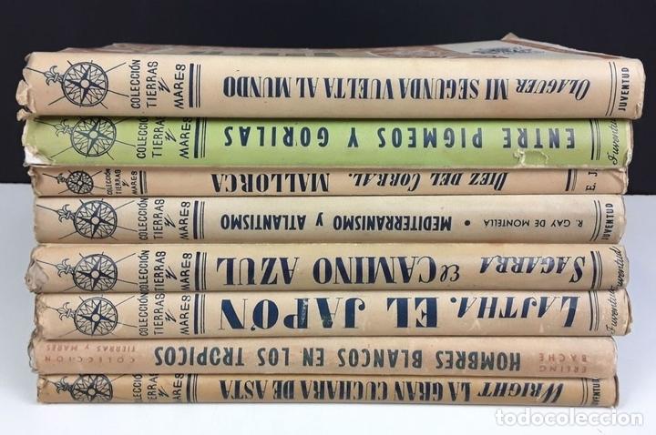 Libros de segunda mano: COLECCIÓN TIERRAS Y MARES. 8 VOLÚMENES. (VER DESCRIPCIÓN). VV. AA. EDIT. JUVENTUD. 1942/1943. - Foto 9 - 80977676