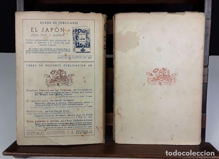 Libros de segunda mano: COLECCIÓN TIERRAS Y MARES. 8 VOLÚMENES. (VER DESCRIPCIÓN). VV. AA. EDIT. JUVENTUD. 1942/1943. - Foto 10 - 80977676