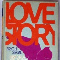 Libros de segunda mano: LOVE STORY / HISTORIA DE AMOR - ERICH SEGAL - CIRCULO DE LECTORES 1970 - VER DESCRIPCIÓN. Lote 47186180