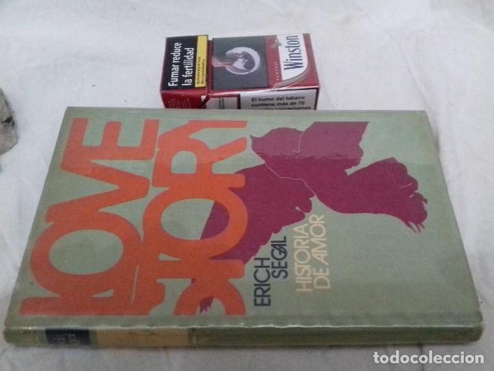 LOVE STORY- (HISTORIA DE AMOR)-ERICH SEGAL-CIRCULO DE LECTORES-1970-TAPAS DURAS (Libros de Segunda Mano (posteriores a 1936) - Literatura - Narrativa - Novela Romántica)
