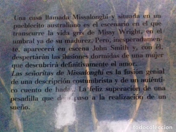 Libros de segunda mano: LAS SEÑORITAS DE MISSALONGHI - COLLEEN MCCULLOUGH-CIRCULO DE LECTORES-TAPAS DURAS+SOBRECUBIERTA - Foto 3 - 83697728