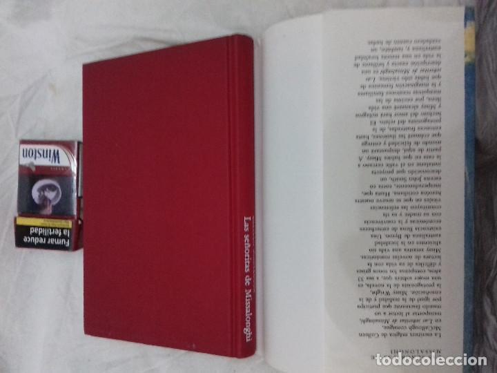 Libros de segunda mano: LAS SEÑORITAS DE MISSALONGHI - COLLEEN MCCULLOUGH-CIRCULO DE LECTORES-TAPAS DURAS+SOBRECUBIERTA - Foto 4 - 83697728