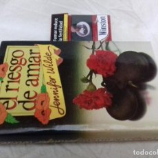 Libros de segunda mano: EL RIESGO DE AMAR - JENNIFER WILDE-CIRCULO LECTORES-TAPAS DURAS + SOBRECUBIERTA-VER FOTOS. Lote 83698344