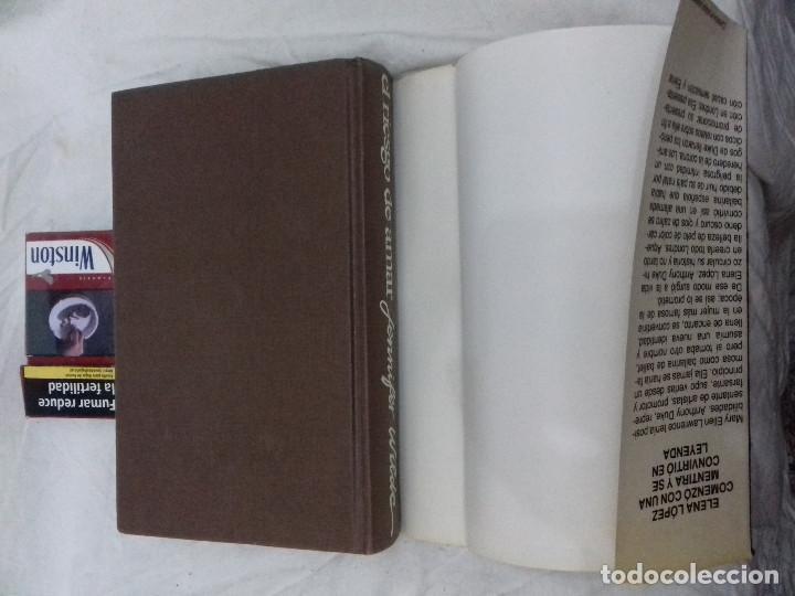 Libros de segunda mano: EL RIESGO DE AMAR - JENNIFER WILDE-circulo lectores-tapas duras + sobrecubierta-ver fotos - Foto 3 - 83698344