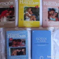 Libros de segunda mano: LOTE B 5 NOVELAS ROMANTICAS. Lote 84924784