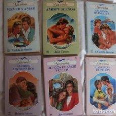 Libros de segunda mano: LOTE VI 6 NOVELAS ROMANTICAS. Lote 85040204