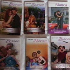 Libros de segunda mano: LOTE XVII 6 NOVELAS ROMANTICAS. Lote 85053780
