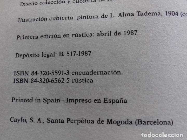 Libros de segunda mano: NO DIGAS QUE FUE UN SUEÑO-TERENCI MOIX-PREMIO PLANETA 1986-VER FOTOS - Foto 7 - 85238464
