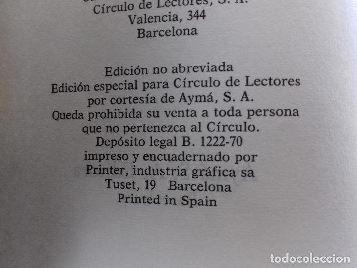 Libros de segunda mano: LO QUE EL VIENTO SE LLEVO-MARGARET MITCHELL-CIRCULO DE LECTORES-TAPAS DURAS - Foto 4 - 85241168
