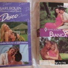 Libros de segunda mano: 4 HISTORIAS ROMÁNTICAS EN 2 VOLÚMENES NOVELA ROMANTICA. Lote 87023060